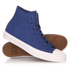 Кеды кроссовки высокие Converse Chuck Taylor All Star Ii Core Sodalite Blue