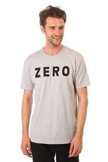 Футболка Zero Army Premium Heather Grey/Black