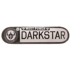 Дека для скейтборда для скейтборда Darkstar S6 Rhm Timeworks White/Black 31.6 x 8 (20.3 см)