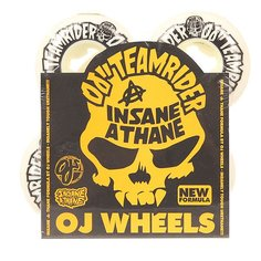 Колеса для скейтборда для скейтборда Oj Team Rider Ez Insaneathane White/Black 101A 50 mm