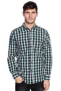 Рубашка в клетку Globe Attfield Shirt Fern Green