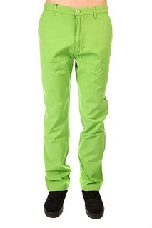 Штаны прямые Urban Classics Chino Pants Limegreen