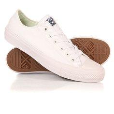 Кеды кроссовки низкие Converse CT ll Ox White