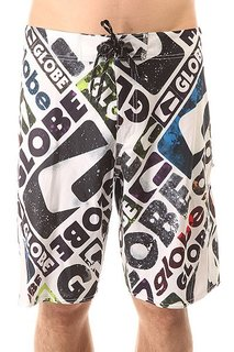 Шорты пляжные Globe Matrixx 21 Boardie White/Grey