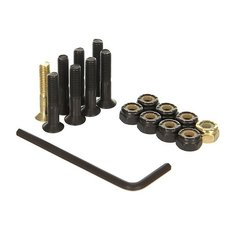 Винты для скейтборда Nomad Винты В Монетнице Green/Black/Gold Allen 1 (8 x Pack)