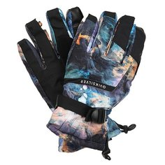 Перчатки сноубордические Quiksilver Mission Glove Oil And Space