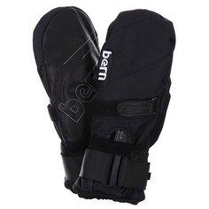 Варежки сноубордические Bern Synthetic Mittens Removeable Wrist Guard Black