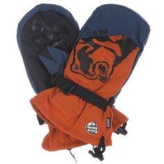 Варежки сноубордические Pow Bear Claw Orange