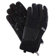 Перчатки сноубордические женские Pow Barker Glove Black