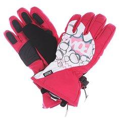 Перчатки сноубордические детские Pow Grom Glove Pink
