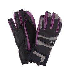 Перчатки сноубордические женские Pow Gem/Grey