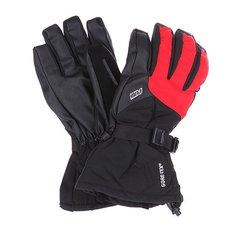 Перчатки сноубордические Pow Warner Glove Black/Red