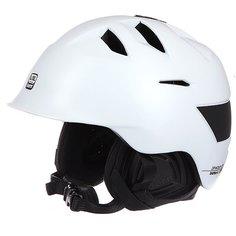 Шлем для сноуборда Bern Kingston Satin White W/ Black Liner