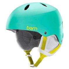Шлем для сноуборда детский Bern Snow EPS Diabla Satin Aqua Green/White Liner