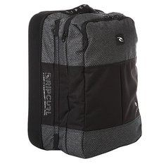 Сумка дорожная Rip Curl F-light Cabin Ripstop Htr Black