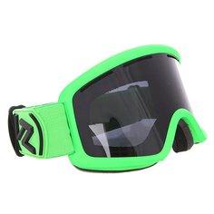 Маска для сноуборда Von Zipper Beefy Lime Matte/Black Chrome