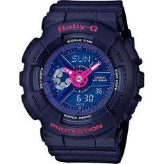 Кварцевые часы женские Casio G-Shock Baby-g 67593 Ba-110pp-2a Blue