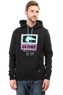 Толстовка кенгуру Globe Mark Up Hoodie Black