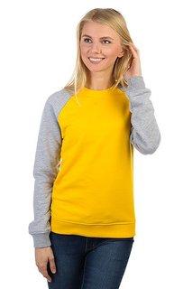 Толстовка классическая Skills Show Your Skills Yellow/Grey