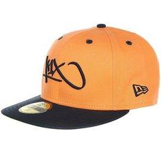 Бейсболка с прямым козырьком K1X Tag Logo 59/50 Light Orange