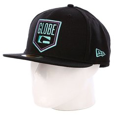 Бейсболка New Era Globe Kenwood NewEra Cap Black