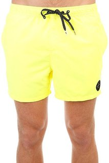 Шорты пляжные Quiksilver Everysolidvol15 Safety Yellow