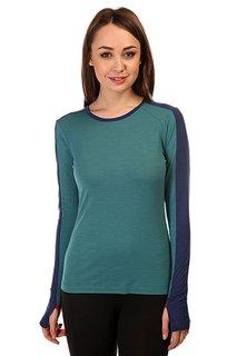 Термобелье (верх) женский Super Natural Nrg Ls Top Blue
