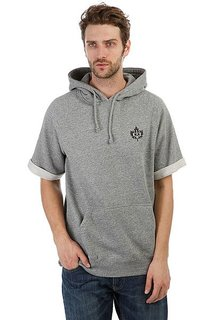 Толстовка кенгуру K1X Authentic Cropped Hoody Grey