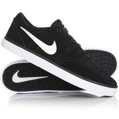 Кеды кроссовки низкие Nike Sb Check Solar Black/White