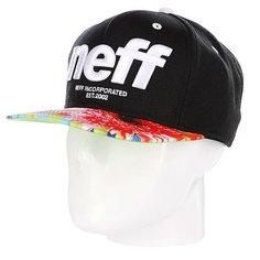 Бейсболка Neff Hardr Black