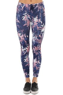 Леггинсы женские Roxy Stay On Pant2 Blue Depths Washed