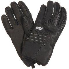 Перчатки сноубордические Pow Villain Glove Real Black