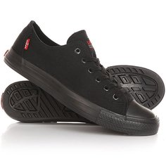 Кеды кроссовки низкие Levis Trucker Low Brilliant Black Levis®
