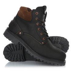 Ботинки зимние Wrangler Yuma Fur Black/Dark Ebony
