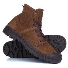Ботинки высокие Palladium Pallabrouse Cml Sandalo/Seal Brown
