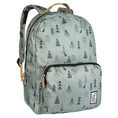 Рюкзак городской The Pack Society Classic Backpack Green Tree Allover