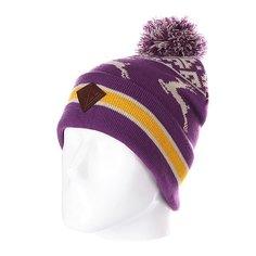 Шапка с помпоном Запорожец Deer Beanies Purple
