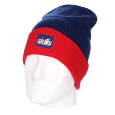 Шапка носок Skills New Sport Beanie Blue/Red