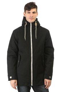 Куртка парка Запорожец Retro Zipper Black