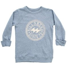 Толстовка классическая детская Billabong Sandy Cheeks Blue Jay