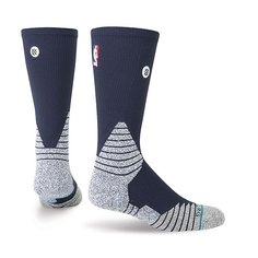 Носки средние Stance Nba Oncourt Solid Crew Navy
