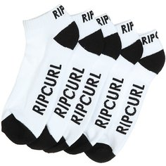 Носки низкие Rip Curl Ankle Sock 5-pk White