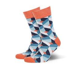 Носки средние Sammy Icon Gaudi Blue/Orange/White