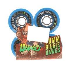 Колеса для скейтборда для лонгборда Landyachtz Pre-Packaged Biggie Hawgs Blue 78A 70 mm