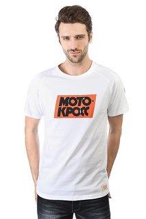Футболка Запорожец Motokross Typo White