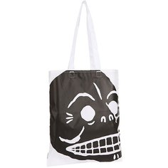 Сумка женская Cheap Monday Modern Tote Cover Skull White