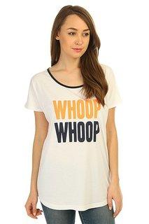 Футболка женская K1X Whoop Whoop Loose White