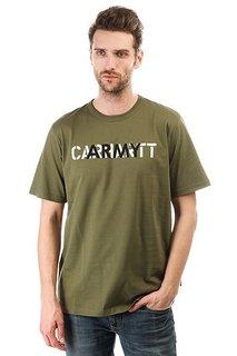 Футболка Carhartt WIP Ca Training Rover Green