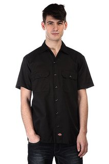 Рубашка Dickies Short Sleeve Workshirt Black