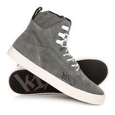 Кеды кроссовки высокие K1X State Le Grey/White